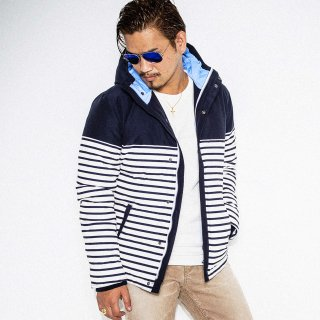 64border Down jacket NAVY