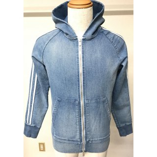<img class='new_mark_img1' src='//img.shop-pro.jp/img/new/icons1.gif' style='border:none;display:inline;margin:0px;padding:0px;width:auto;' />heavy sweat denim Hoodie IND B