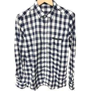 RC5 Mark check shirt NAVY