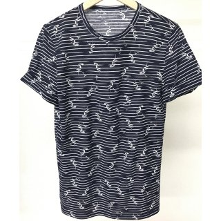 YACHT ROLL UP TEE NAVY