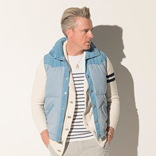 ROBERT DOWN VEST LIND