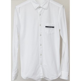 <img class='new_mark_img1' src='//img.shop-pro.jp/img/new/icons1.gif' style='border:none;display:inline;margin:0px;padding:0px;width:auto;' />MARK OX shirt WHITE