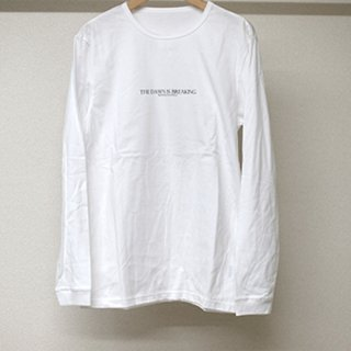BREAKING LONG T SHIRTS WHITE