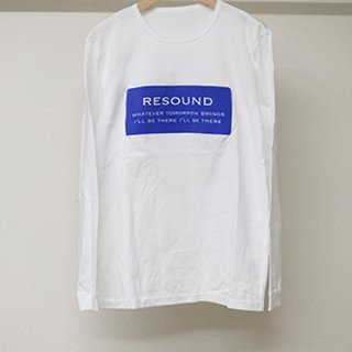 BOXROGO LONG T SHIRTS WHBLUE