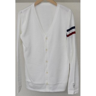 RC KNIT CARDIGAN WHITE