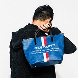 <img class='new_mark_img1' src='//img.shop-pro.jp/img/new/icons1.gif' style='border:none;display:inline;margin:0px;padding:0px;width:auto;' />RESOUND DENIM  TOTE S INDBK