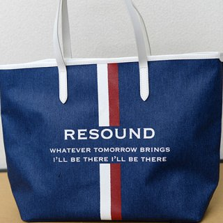 RESOUND DENIM  TOTE M INDWH