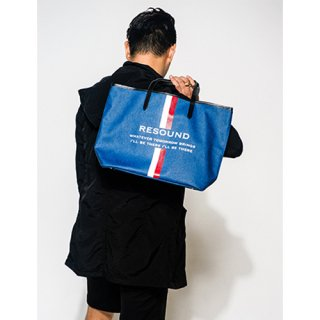 RESOUND DENIM  TOTE M INDBK