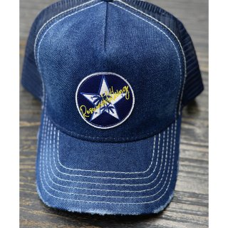 VINTEAGE DENIM STAR PALM CAP INDIGO