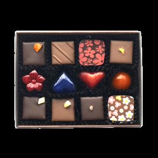 チョコレート12個入