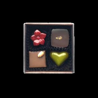 チョコレート4個入
