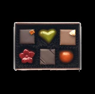 チョコレート6個入