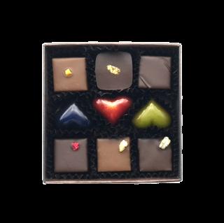 チョコレート9個入