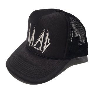 MAD-Wedge PRINT MESH CAP-GLAM ADDICTION LIMITED-