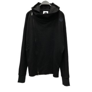 Embroidery Over Asymmetry Hoodie Type-B