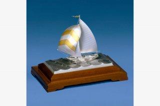 銀製 ヨット5号(フルセール)