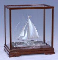 銀製 ヨット6号(カッター)
