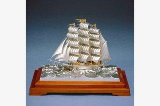 銀製 帆前船 3号※