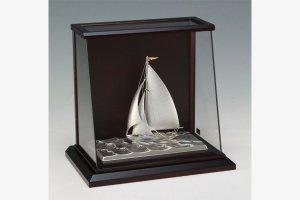 銀製 ヨット6号(スループ) スロープケース