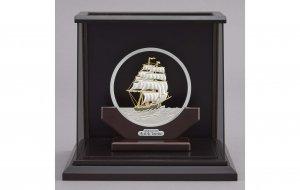 純銀 丸形帆船 5号 スロープケース
