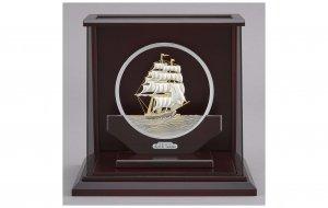 純銀 丸形帆船 6号 スロープケース