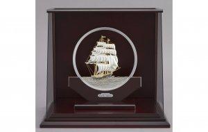 純銀 丸形帆船 9号 スロープケース