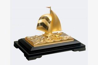 純金 ヨット6号(フルセール)