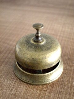 真鍮製 テーブルベル