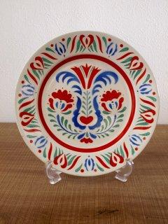 ハンガリー GRANIT社 飾り皿(23cm)ペア