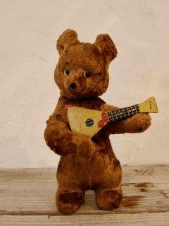 ロシアンベア バラライカ Russian bear with balalaika