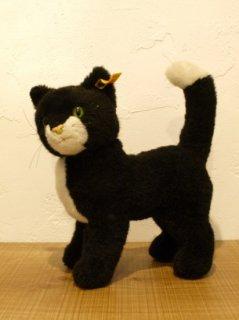 ヴィンテージ シュタイフ社 黒いねこ STEIFF BLACK CAT