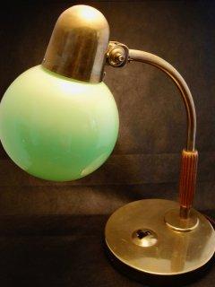Siemens アールデコ デスクランプ Art Deco brass desk lamp