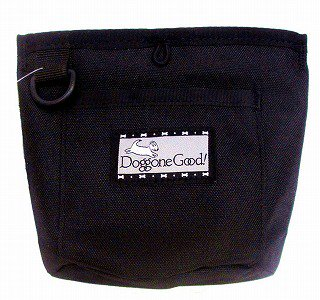 Trek & Train Bait Bag from Doggone Good! ごほうびポーチ ブラック