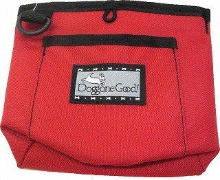 Trek & Train Bait Bag from Doggone Good! ごほうびポーチ レッド