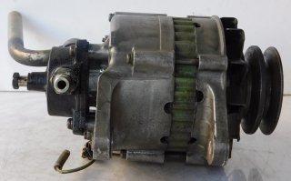 ●オルタネーター ●いすゞ LR235- ※ポンプ付き Wプーリー【中古品】