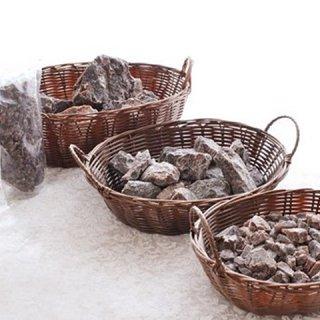 【天然岩塩バスソルト】ブラックダイヤソルトSMミックスサイズ1kg 約33回分
