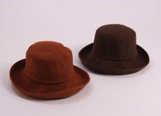 屋久杉染 広つばセーラー帽