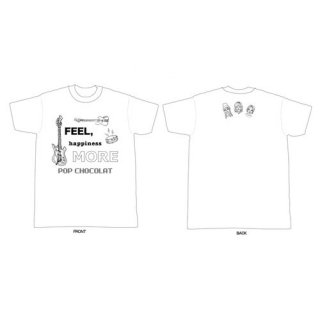 【SOLD OUT】Tシャツ《more》white