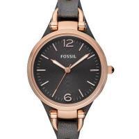 正規品 FOSSIL フォッシル GEORGIA ジョージア 腕時計 レディース ブラック サンドレザー ES3077 商品画像