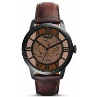 【新作】正規品 入手困難☆フォッシル FOSSIL TOWNSMAN タウンズマン 腕時計 メンズ ME3098 自動巻き オートマチック ブラウン レザー スケルトン 商品画像