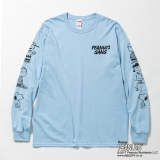 Vote Make New Clothes / PEANUTS GANG L/S TEE