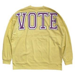 Vote Make New Clothes / VOTE BIG LOGO L/S TEE