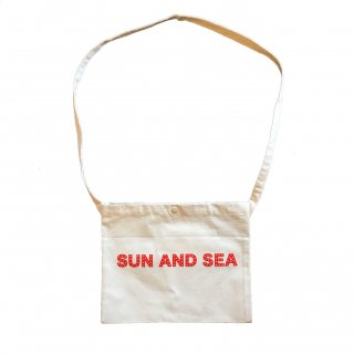 SUN AND SEA / Basic Logo Sacoche