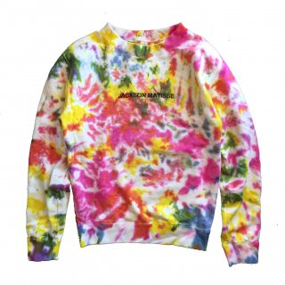 <img class='new_mark_img1' src='https://img.shop-pro.jp/img/new/icons20.gif' style='border:none;display:inline;margin:0px;padding:0px;width:auto;' />Jackson Matisse / Tie-Dye Sweat  19,800円→30% OFF!!