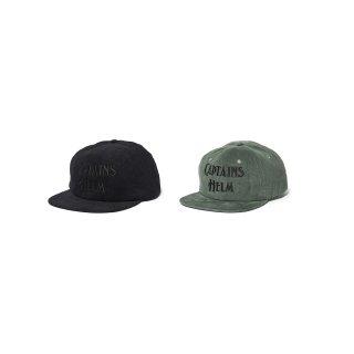 Captains Helm / #AUTHENTIC LOGO CORDUROY CAP