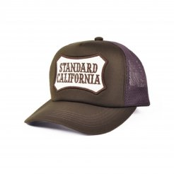 <img class='new_mark_img1' src='https://img.shop-pro.jp/img/new/icons1.gif' style='border:none;display:inline;margin:0px;padding:0px;width:auto;' />Standard California / SD Logo Wappen Mesh Cap