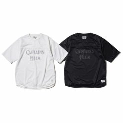 <img class='new_mark_img1' src='https://img.shop-pro.jp/img/new/icons1.gif' style='border:none;display:inline;margin:0px;padding:0px;width:auto;' />Captains Helm / Double Mesh Football Tee