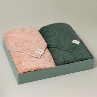 OLSIA Premium Cottonギフトセット (バスタオル2枚)