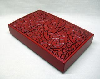 硯箱-小(唐草)