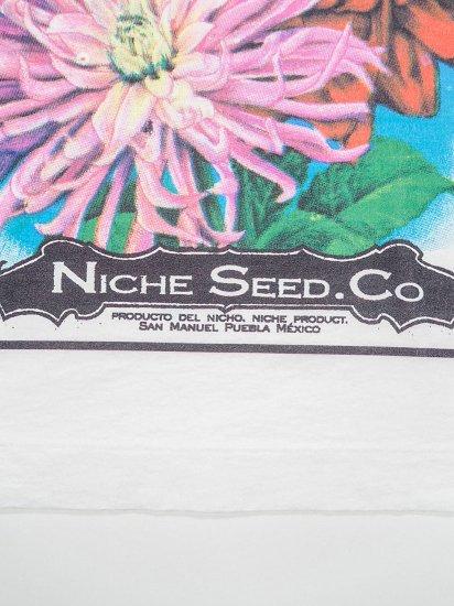Niche.  FLOWER SEEDS Tシャツ FLOWER 3
